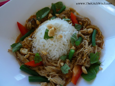 slow cooker chicken coconut curry